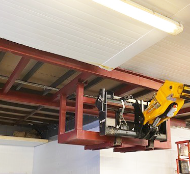 STEELWORK AND SERVICES UPGRADE